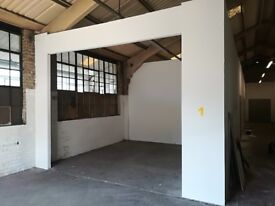 Various sized units to let in a converted warehouse in Neepsend suitable for all types except cars.