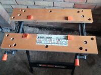 Black and Decker Workmate bench (good condition)