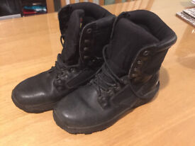 333e5a3536d Neat Preowned Herman Survivors Builder Safety Steel Toe Work Boots ...