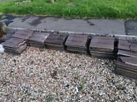Concrete roof tiles, Free!!