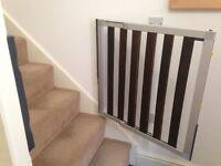 Aluminium Lindam Stair Gate