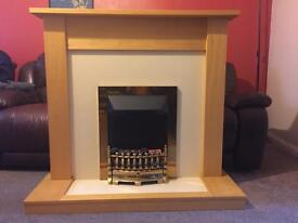 A excellent artificial fireplace,