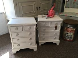 Pair of Lovely bedside tables with drawers