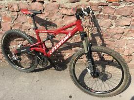 Cannondale Prophet full suspension mountain bike