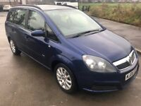 Superb Value 2006 Zafira 1.6 Club 7 Seater People Carrier Only 67000 Miles! May MOT Very Clean Car