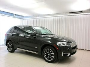 2017 BMW X5 35i x-DRIVE SUV w/ NAV, PANO ROOF, HEAD UP DISPLAY