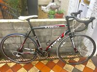 Trek 1.1 Alpha road bike 16 speed 22 inch aluminium frame lightweight 700c wheels
