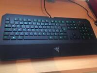 Razor Deathstalker Gaming Keyboard (Like New)