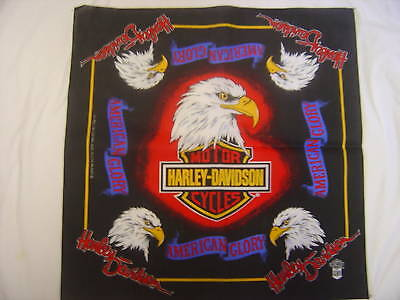 Harley Davidson Bandana  American Glory © authentic  Never worn or used
