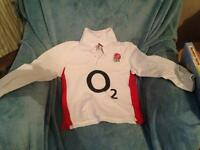 Genuine England rugby top age 5