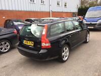 2007 Volvo V50 1,9 litre diesel 5dr estate 2 owners