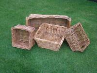 Wicker Baskets, Ideal for Hampers