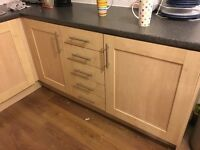 Gemini kitchen under cupboards and doors and 3 top cupboards