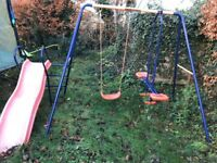 Headstrom slide and swing
