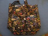 Floral Accessorize backpack - new, never used