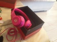 Nearly new dr dre beats in pink