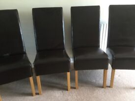 G Plan Dining Chairs x4