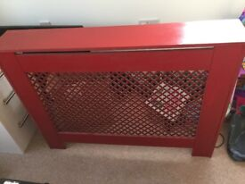 Red Radiator Cover