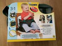 3 in 1 booster seat, nappy change bag