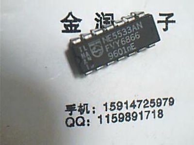 Philips Ne5533n Dip-14 Dual And Single Low Noise Op Amp Usa Ship