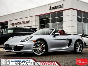 2014 Porsche Boxster S ONLY 45694 KMS