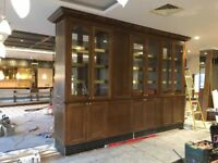 Refurbishment , Shopfitting , Joinery and carpentry installations