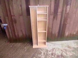 Tall Cd and Dvd Rack Delivery Available