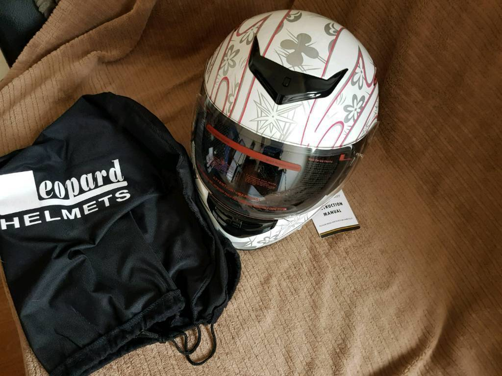 Women's motorbike helmet (m)