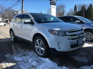 2013 Ford Edge Limited, 1 Owner, New Tires, Nav, Moonroof, Leath