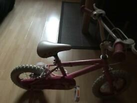 Kids bike girl