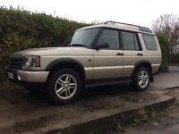*** landrover discovery td5 2003 swap px car van ****