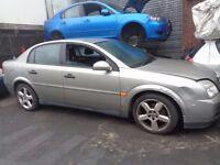 BREAKING --- Vauxhall Vectra LS 16V 2L Petrol Auto Saloon 145BHP --- 2004