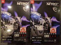 AMD RX 580 RX580 8GB Sapphire Nitro + x 2