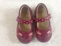 Clarks girls shoes size 3 1/2 F