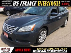 2013 Nissan Sentra 1.8 S | EXTREME ECONOMY | LOW BI-WEEKLY PAYME