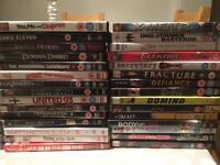 Assortment of dvds and PlayStation games