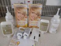 2 x boxes belle colour baby blonde