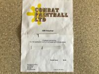 Combat paintballing for 10 no people