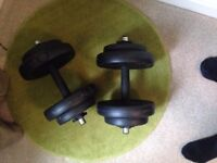 Weights. Used but in good condition.