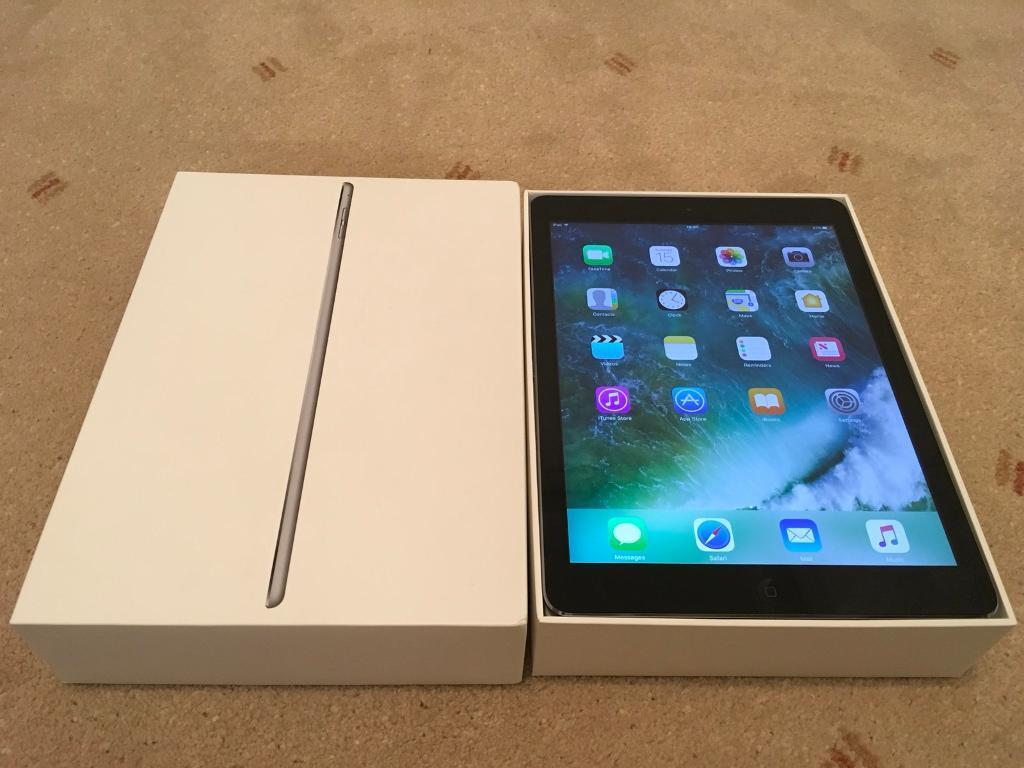 Ipad Air - Space Grey - Mint condition