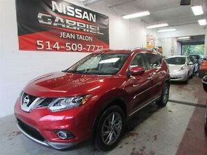 2014 Nissan Rogue SL AWD ONE OWNER/NEVER ACCIDENTED/PANORAMIQUE