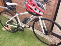 Ladies Boardman comp fi hybrid bike