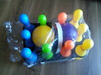Kid outdoor bowling set new