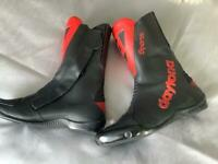 DAYTONA VINTAGE SPORTS MOTORCYCLE BOOTS - HAND CRAFTED IN GERMANY