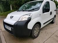 NO VAT 2013 Peugeot bipper professional van 55k miles