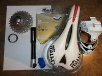 Variety of cycling parts/equipment