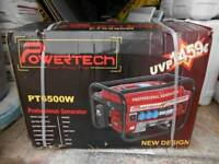 NEW POWER TECH GENERATOR 6.5KVA