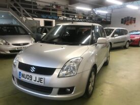 SUZUKI SWIFT 1.5 GLX, 2009, 73085 MILES, SERVICED, 1 OWNER, MOT 24/05/2019