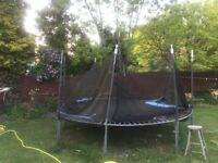 Trampoline for sale (7 years young)
