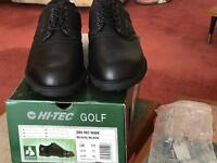 Men's size 11 golfing shoes brand new